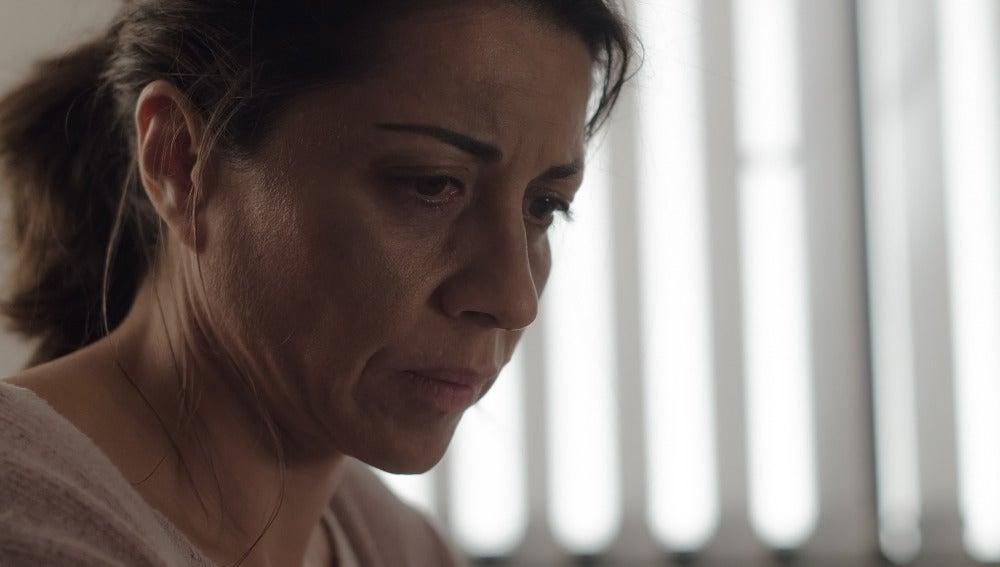 Carmen Castro en comisaría
