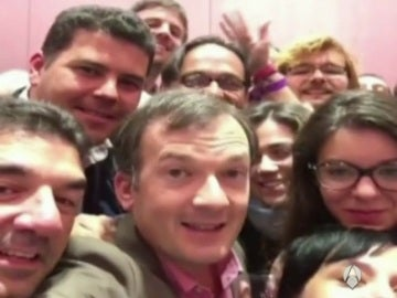 Selfie de Martín de la Herrán