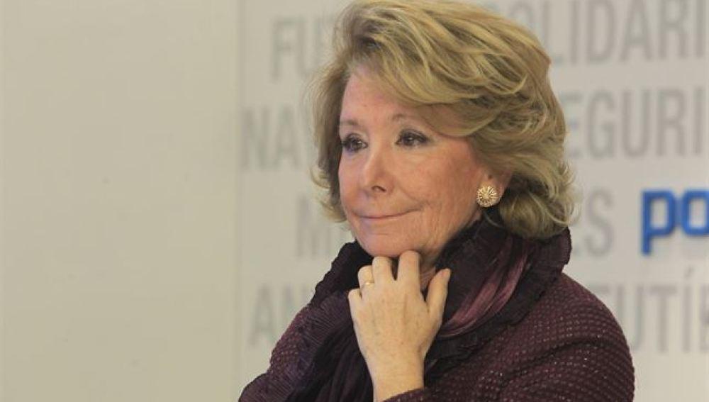 Esperanza Aguirre, tras las elecciones andaluzas 2015