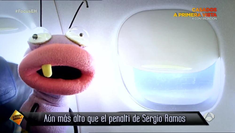 Barrancas en el avión