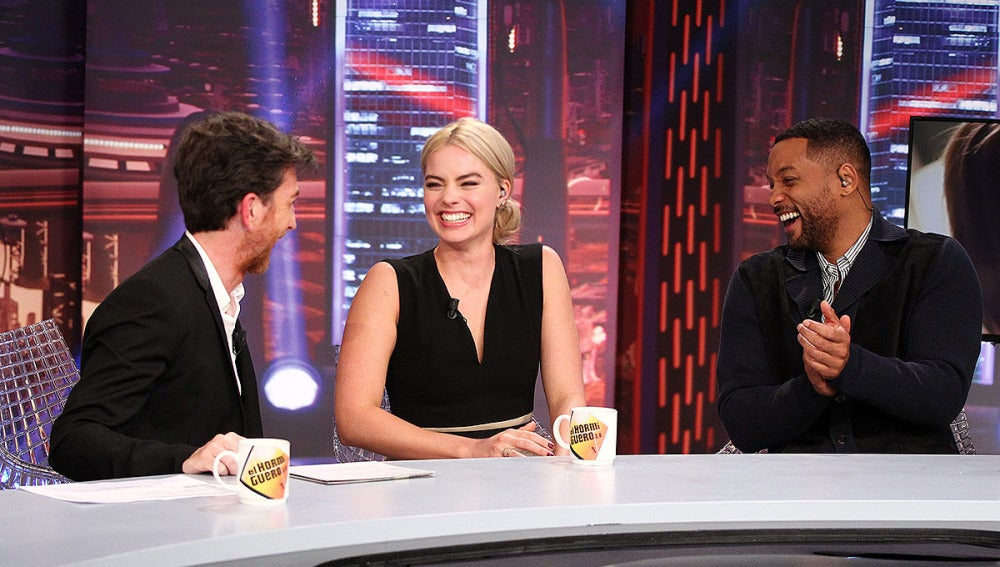 Will Smith y Margot Robbie en El Hormiguero 3.0Will Smith y Margot Robbie en El Hormiguero 3.0