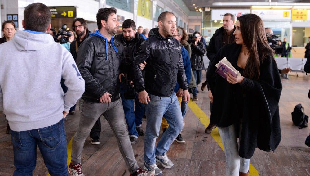 Familiares de los pasajeros del vuelo de Germanwings
