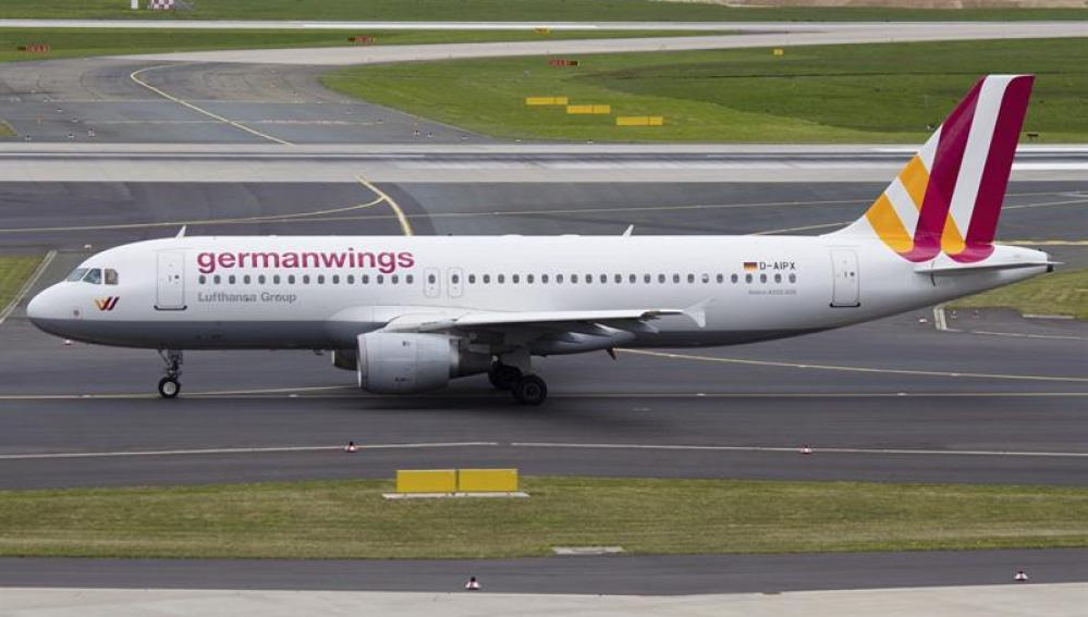 Avión de Germanwings.