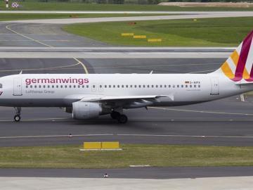Avión de Germanwings.
