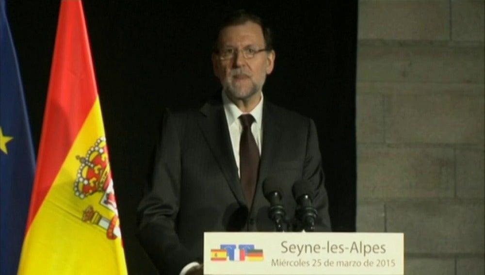 """Rajoy: """"Vamos a identificar a las víctimas y a repatriarlas en las mejores condiciones"""""""
