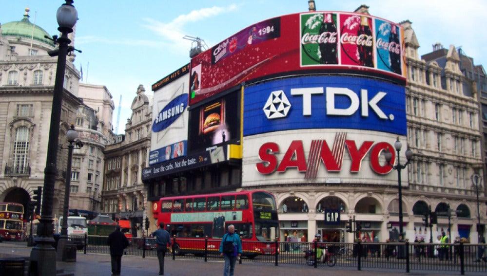 TDK deja de anunciarse en Picaddilly Circus