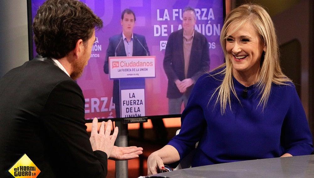 Cristina Cifuentes en El Hormiguero 3.0