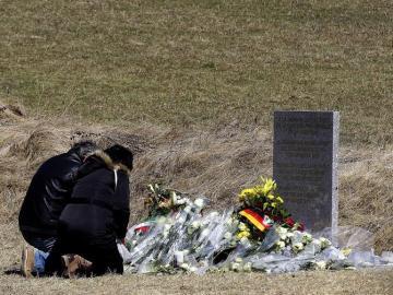 Monolito en recuerdo a las víctimas del avión de Germanwings