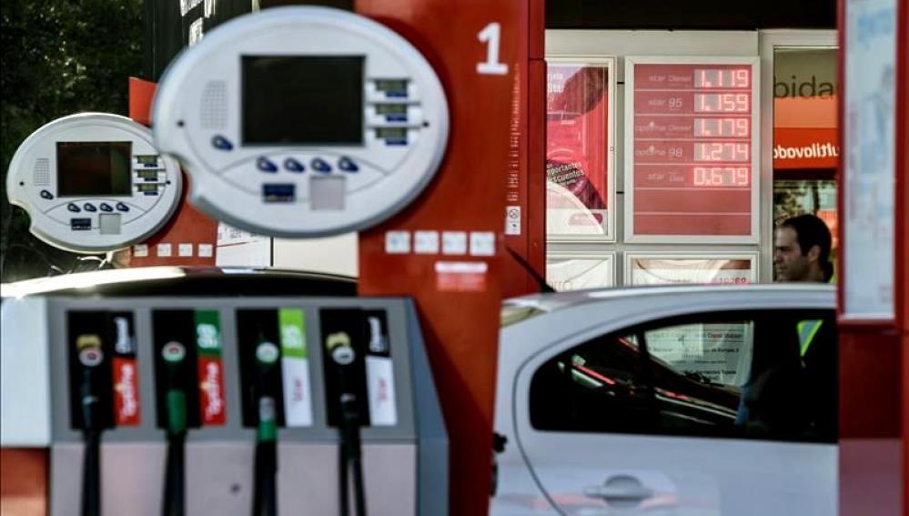 Precio de carburantes