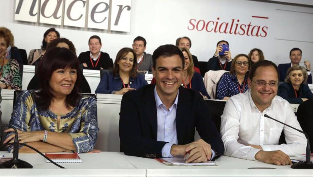 Pedro Sánchez, en el Comité Federal