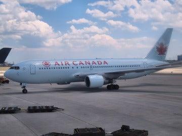 Avión de Air Canadá