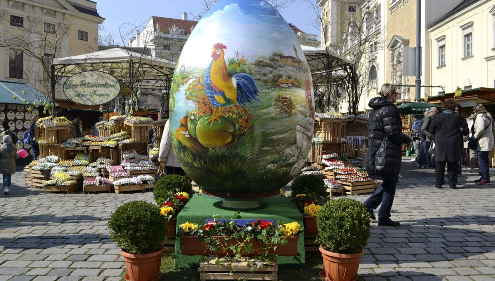 Huevo de pascua en Viena