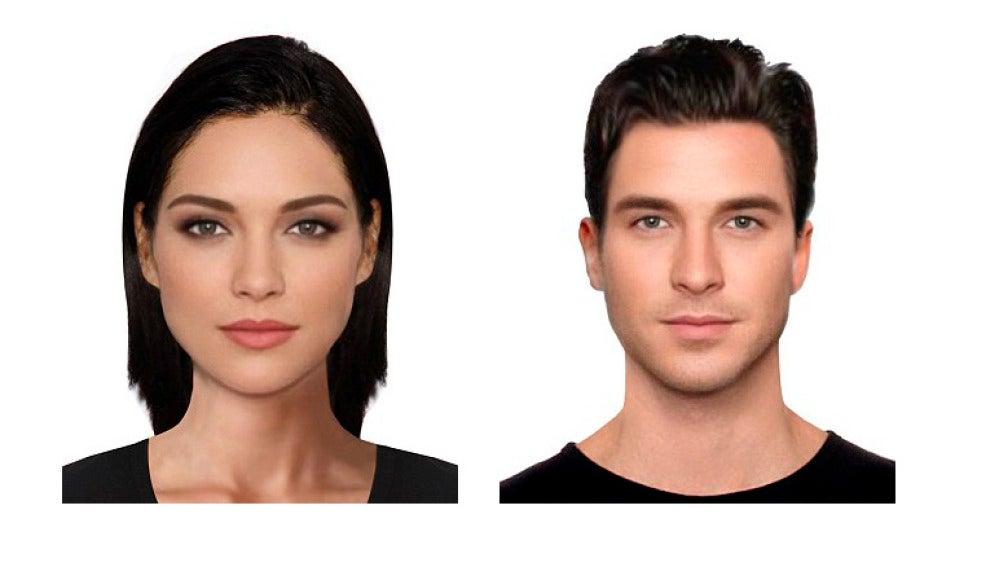 Estereotipo femenino y masculino de la belleza según los investigadores.