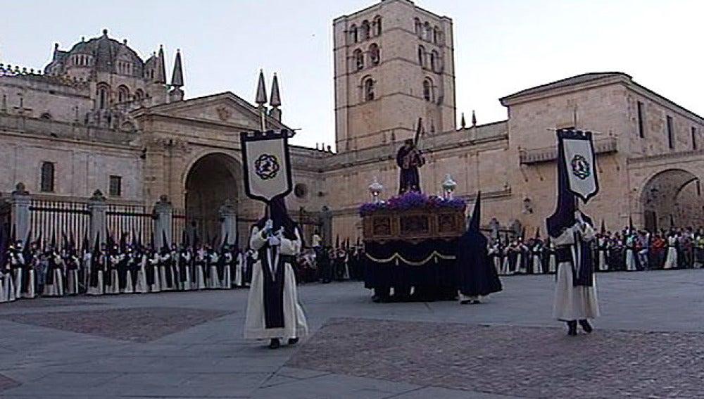 Cofradía de Jesús del Vía Crucis, en Zamora