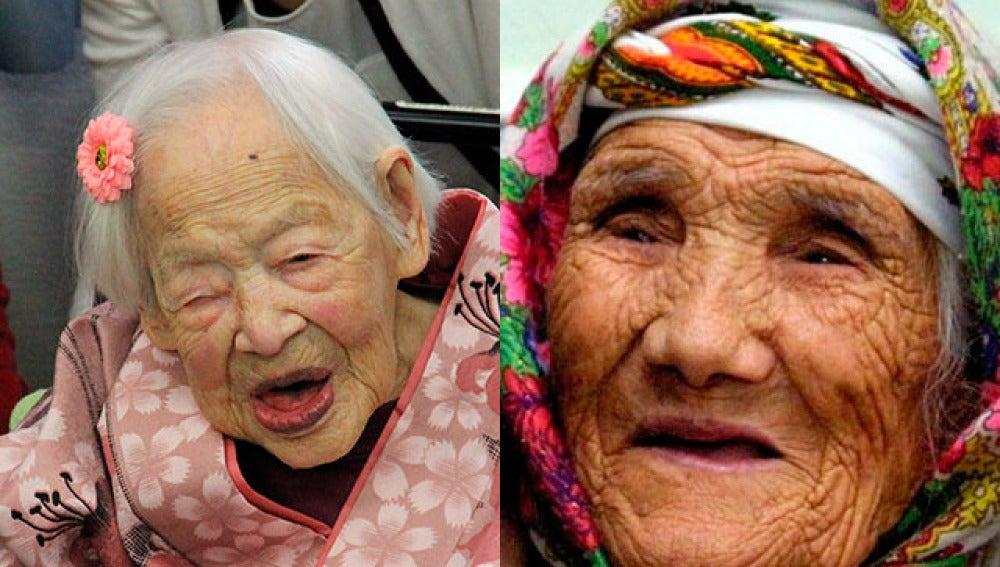Mueren las dos mujeres más longevas de mundo