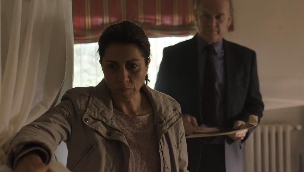 Carmen y el comisario Casas