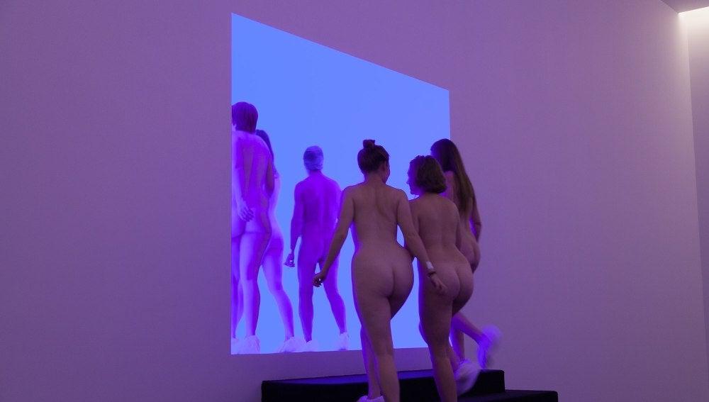 Tour nudista en la Galería Nacional de Australia