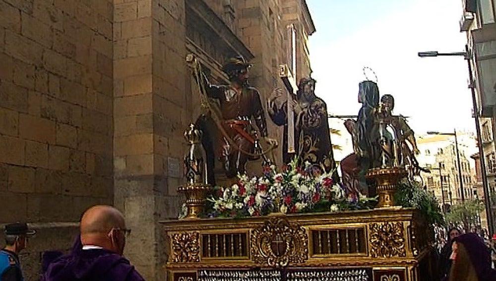 Procesión de Viernes Santo en Salamanca