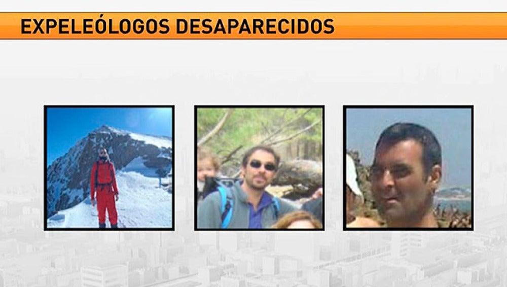 Los tres espeleólogos desaparecidos en Marruecos