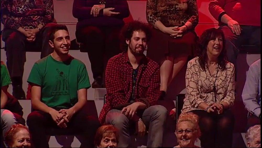 El clon de Juan de El Hormiguero entre el público