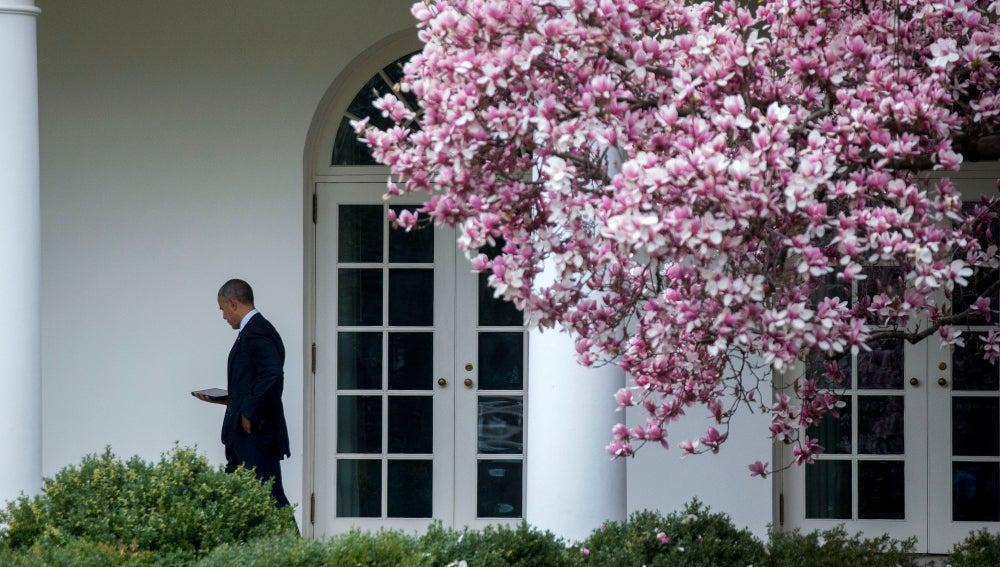 Barack Obama, en la Casa Blanca