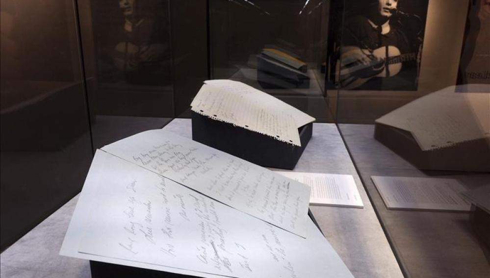 """Manuscrito original de """"American Pie"""" subastado por 1,1 millones de euros"""