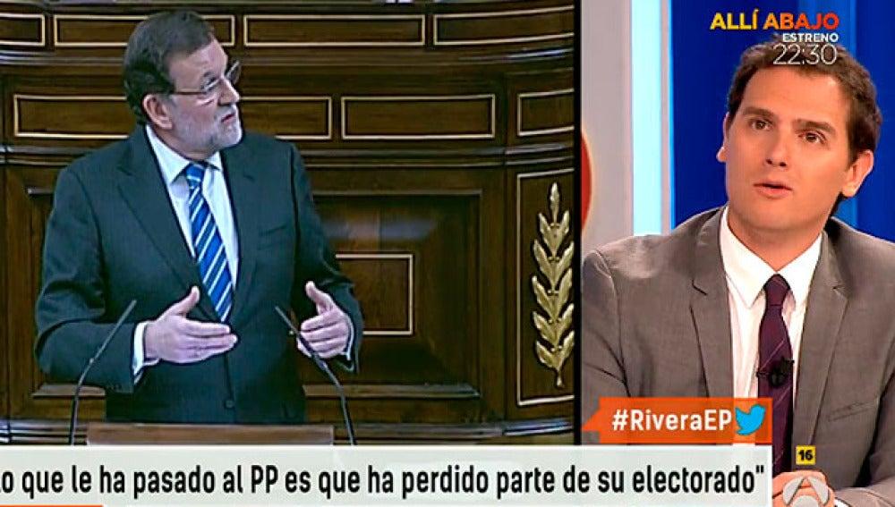 Albert Rivera carga contra el PP en Espejo Público