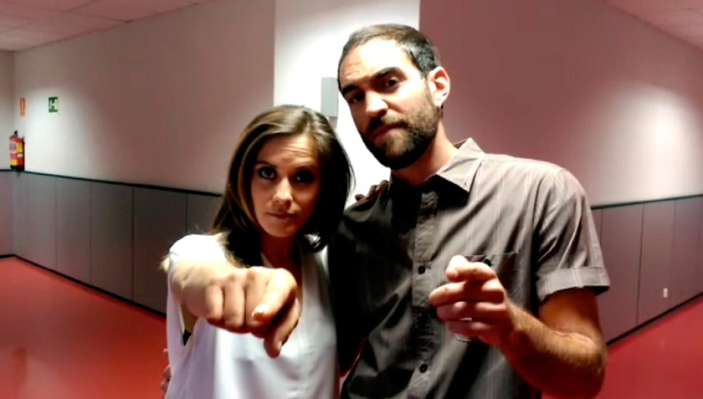 María León y Jon Plazaola te invitan a ver 'Allí Abajo'