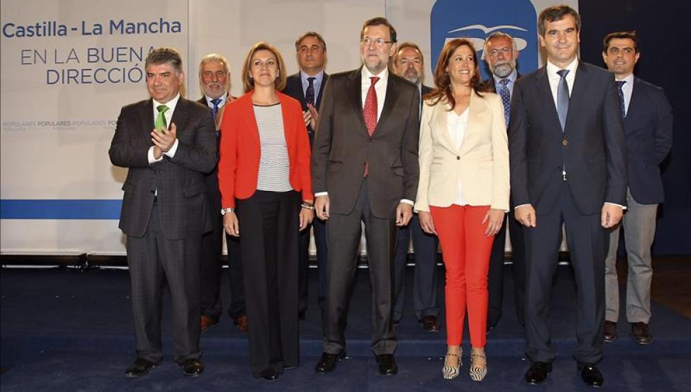 Acto de presentación de candidatos del PP a las alcaldías de las capitales de provincia castellanomanchegas.