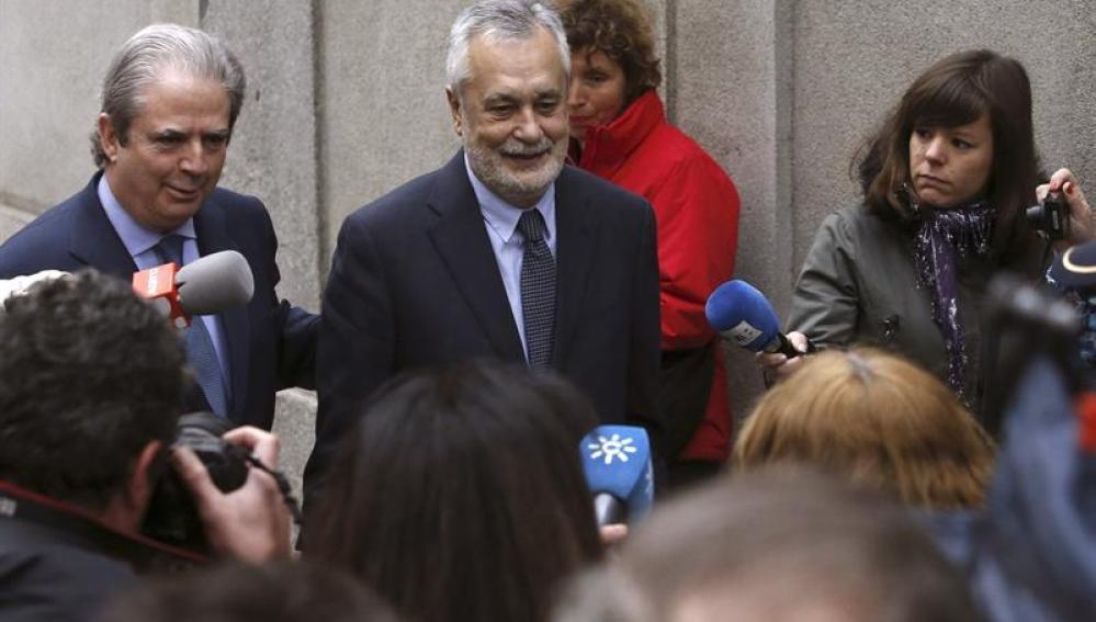 José Antonio Griñán llega al Supremo
