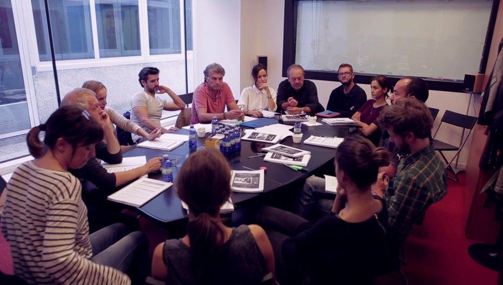 Los actores de 'Sin Identidad' preparan un capítulo