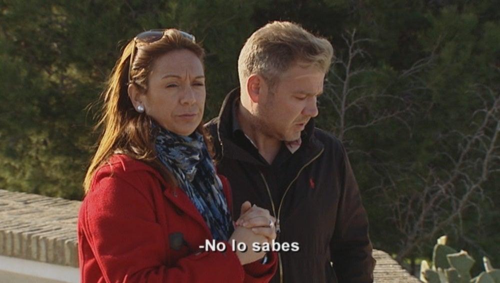 Toñi no se aclara al enseñar Chiclana a Laurent