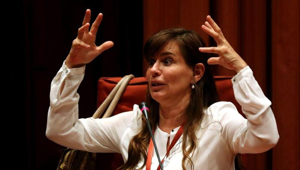 La expareja de Jordi Pujol Ferrusola María Victoria Álvarez
