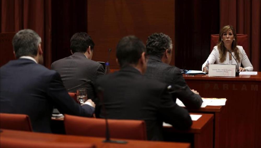 """Camacho dice que su comparecencia es una """"cortina de humo"""" para tapar el caso Pujol"""