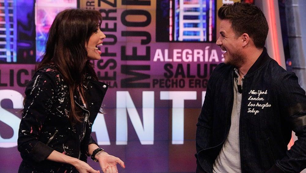 Pilar Rubio y Dani Martín en El Hormiguero 3.0