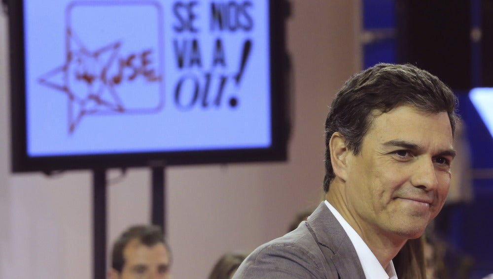 """Pedro Sánchez:""""Rajoy es un presidente excluyente"""""""