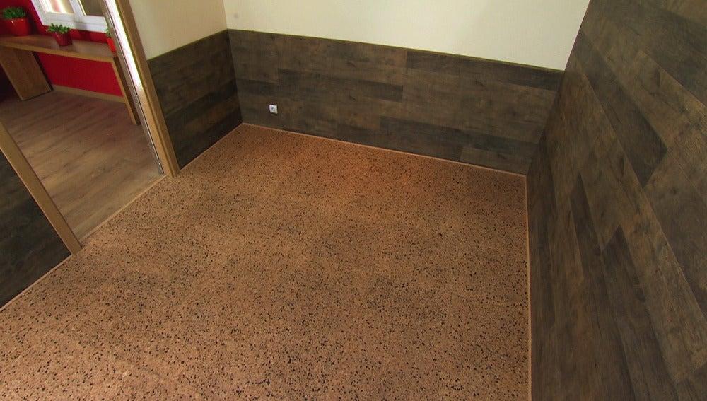 Cómo cubrir el suelo de una habitación