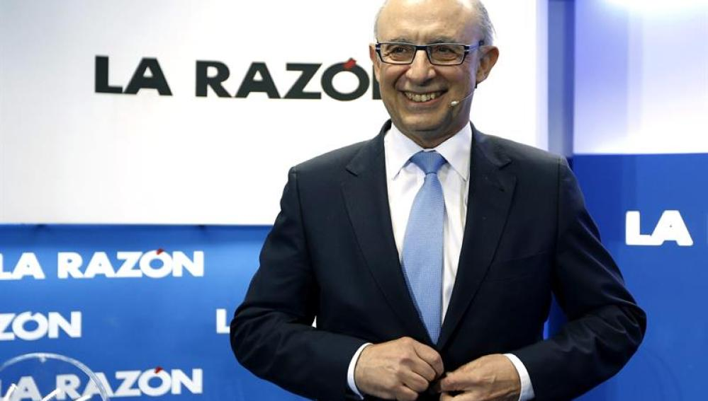 Cristóbal Montoro, en el foro de La Razón