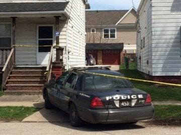 Un coche de la Policía de Cleveland