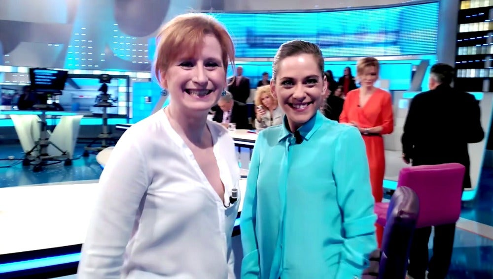 Mari Paz Sayago y María León os invitan a ver el capítulo de esta noche