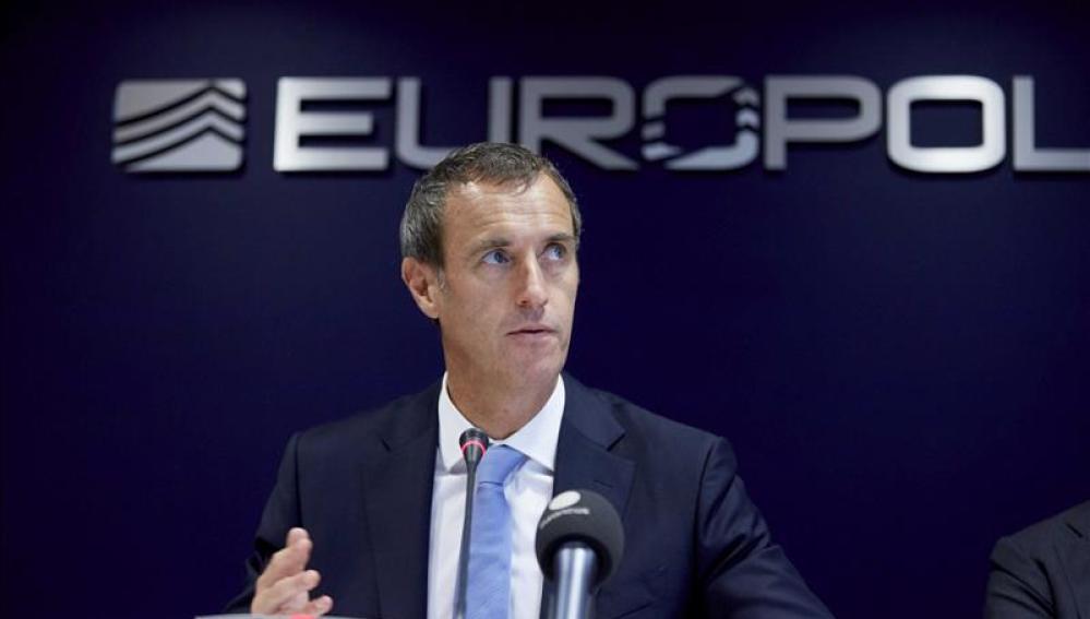 El director de la Oficina Europea de Policía (Europol), Rob Wainwright.