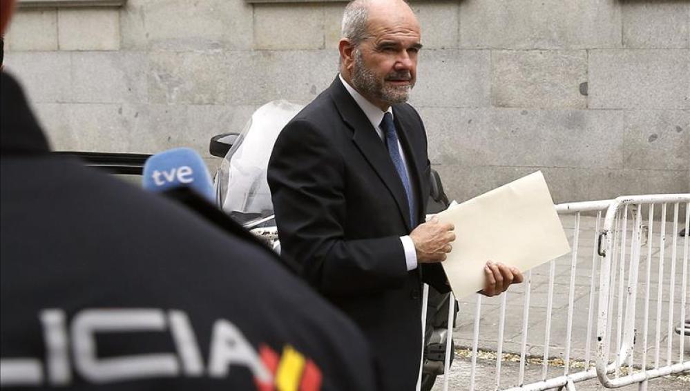 Manuel Chaves llega al Tribunal Supremo para declarar en el caso ERE