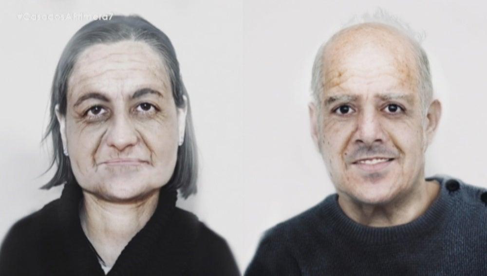 Gloria y Salva se imaginan con 80 años