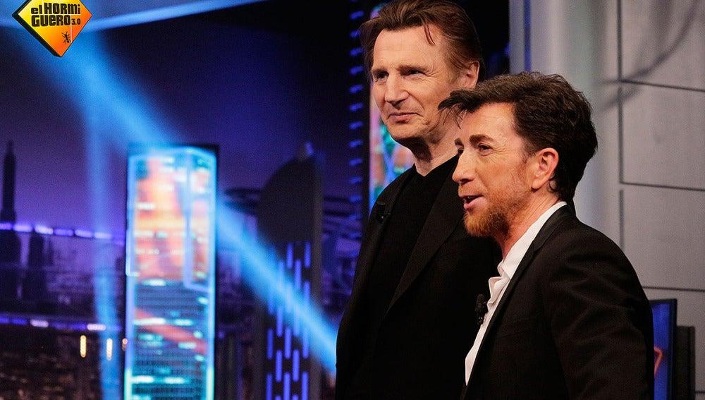 Liam Neeson en El Hormiguero 3.0
