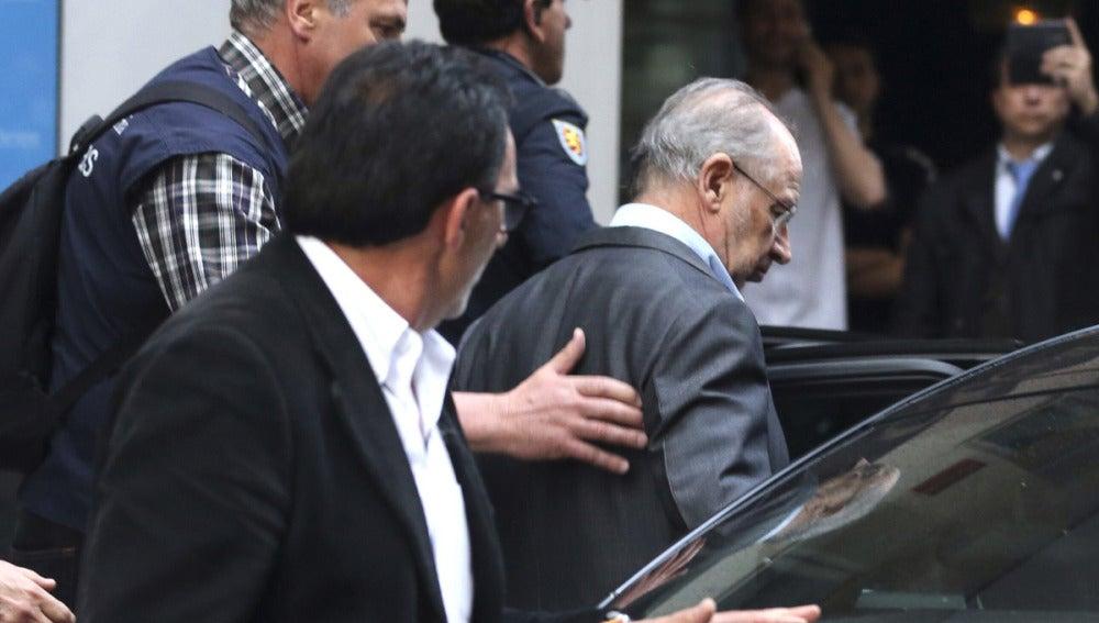 Rodrigo Rato, detenido tras el registro