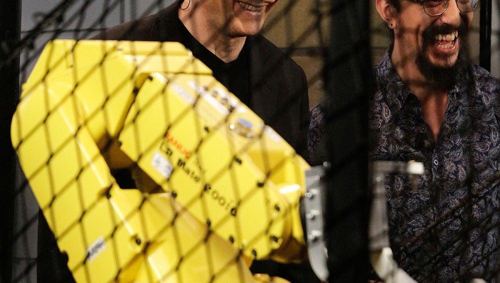 Liam Neeson, Marron en El Hormiguero 3.0