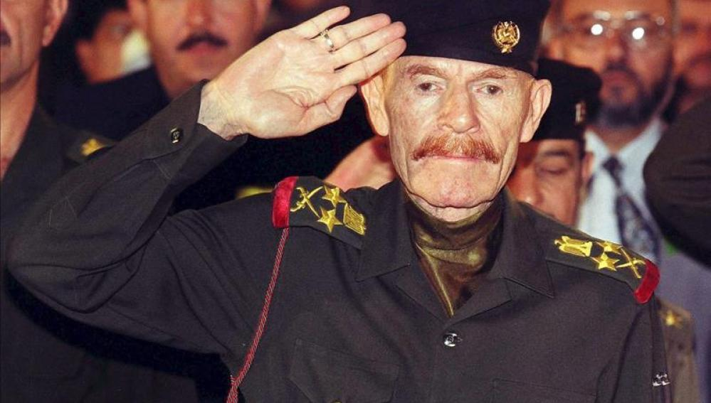Ezat Ibrahim al Duri, vicepresidente de Sadam Husein