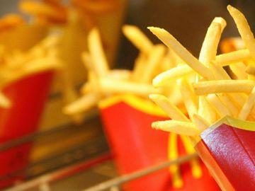 Patatas fritas de McDonalds