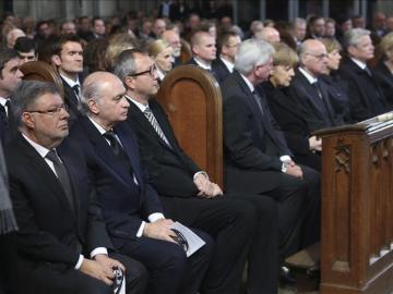 Un oficio ecuménico abre el acto en Alemania por las víctimas de Germanwings