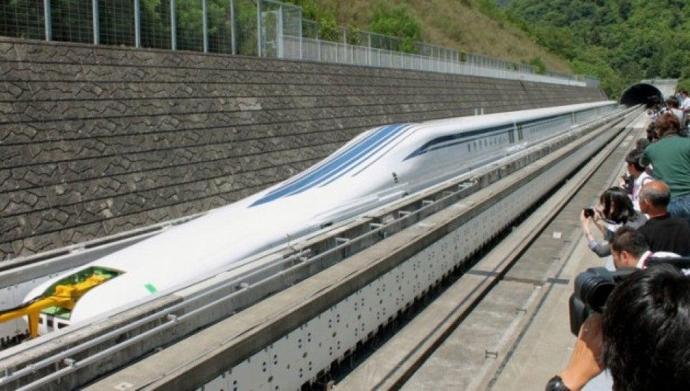 El tren 'Maglev' de Japón